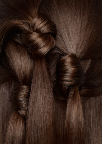 Hair details, brown hair, New York Hair Photographer